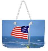 Summer Flag Weekender Tote Bag