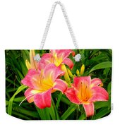 Summer Flame Weekender Tote Bag