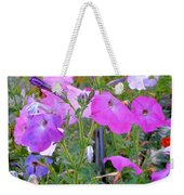 Summer Flowers 8 Weekender Tote Bag