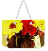 Summer Flowers Yellow Daisies Weekender Tote Bag