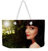 Summer Garden In The Late Afternoon Weekender Tote Bag