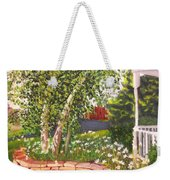 Summer Garden Weekender Tote Bag by Lea Novak