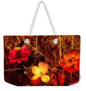 Summer Glow On Flowers Weekender Tote Bag