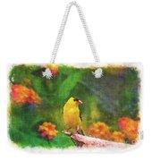 Summer Goldfinch - Digital Paint 4 Weekender Tote Bag