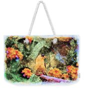 Summer Goldfinch - Digital Paint 5 Weekender Tote Bag