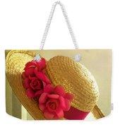 Summer Hat Weekender Tote Bag