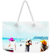 Summer Hats Weekender Tote Bag