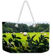 Summer Hay Weekender Tote Bag