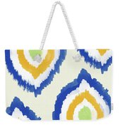 Summer Ikat- Art By Linda Woods Weekender Tote Bag