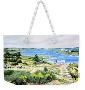 Summer In Lunenburg Harbour Weekender Tote Bag