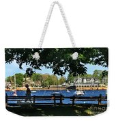 Summer In Marblehead, Ma Weekender Tote Bag
