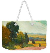 Summer Landscape By John William Beatty Weekender Tote Bag