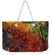 Summer Landscape With Poppies  Weekender Tote Bag