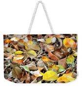 Summer Leaves For Fall Weekender Tote Bag