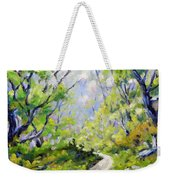 Summer Lights Weekender Tote Bag