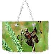 Summer Dragonfly Weekender Tote Bag