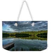 Summer Morning At The Dock Weekender Tote Bag
