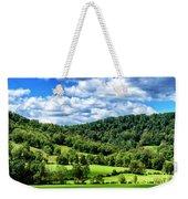 Summer Morning Meadow And Ridge Weekender Tote Bag