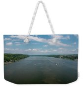 Summer Morning View Over The Hudson Weekender Tote Bag