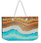Summer Mosaic Weekender Tote Bag