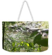 Summer Mountain Creek Weekender Tote Bag