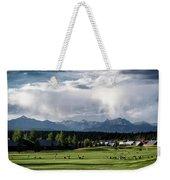 Summer Mountain Paradise Weekender Tote Bag