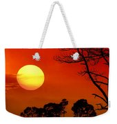 Summer Nights Weekender Tote Bag