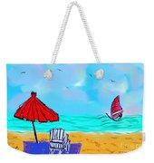 Summer On Nantasket Weekender Tote Bag