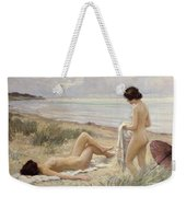 Summer On The Beach Weekender Tote Bag by Paul Fischer