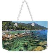 Summer Paddle Weekender Tote Bag
