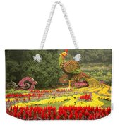 Summer Palace Flower Phoenix Weekender Tote Bag