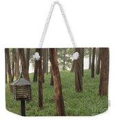 Summer Palace Trees And Lamp Weekender Tote Bag