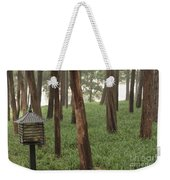 Summer Palace Trees And Lamp Weekender Tote Bag