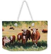Summer Pastures Weekender Tote Bag