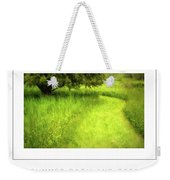 Summer Path And Tree Poster Weekender Tote Bag
