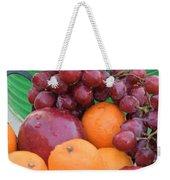 Cool Summer Patio Tidbits Weekender Tote Bag