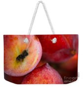 Summer Peaches Weekender Tote Bag