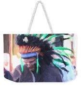 Summer Peacock Impersonation Weekender Tote Bag