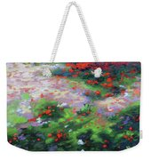 Summer Petals On A Forest Ground Weekender Tote Bag