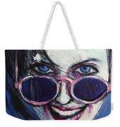 Summer - Portrait Of A Woman Weekender Tote Bag