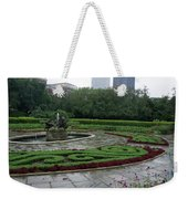 Summer Rain In The Conservatory Garden Weekender Tote Bag