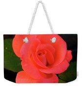 Summer Rose Weekender Tote Bag