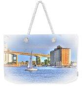 Summer Sailing Weekender Tote Bag