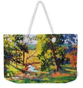 Summer Shadows Weekender Tote Bag
