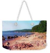 Summer Shores Of Lake Superior Weekender Tote Bag