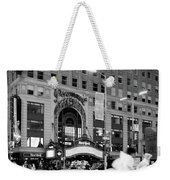 Summer Shower, Times Square, Nyc #130559 Weekender Tote Bag by John Bald