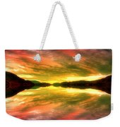 Summer Skies At Skaha Weekender Tote Bag