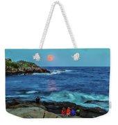 Summer Solstice Strawberry Moon Weekender Tote Bag