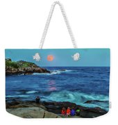 Summer Solstice Strawberry Moon Weekender Tote Bag
