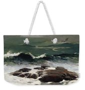 Summer Squall Weekender Tote Bag by Winslow Homer